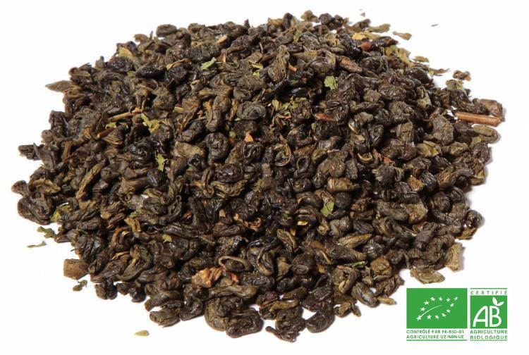 Thé vert à la menthe de Marrakech pochette de 100g vrac