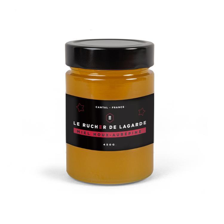 Miel de Houx-Aubépine 450g