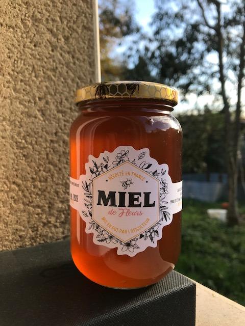 Miel de fleurs 500 gr