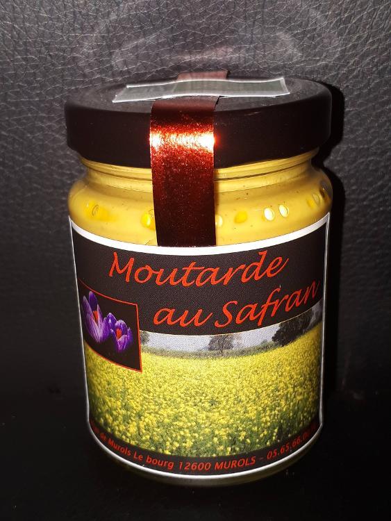 Moutarde au safran bio 200g