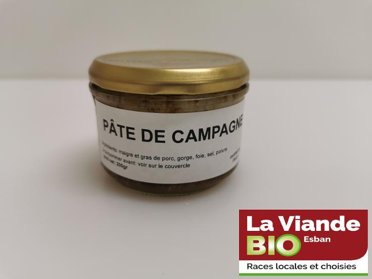 PÂTE DE CAMPAGNE BIO