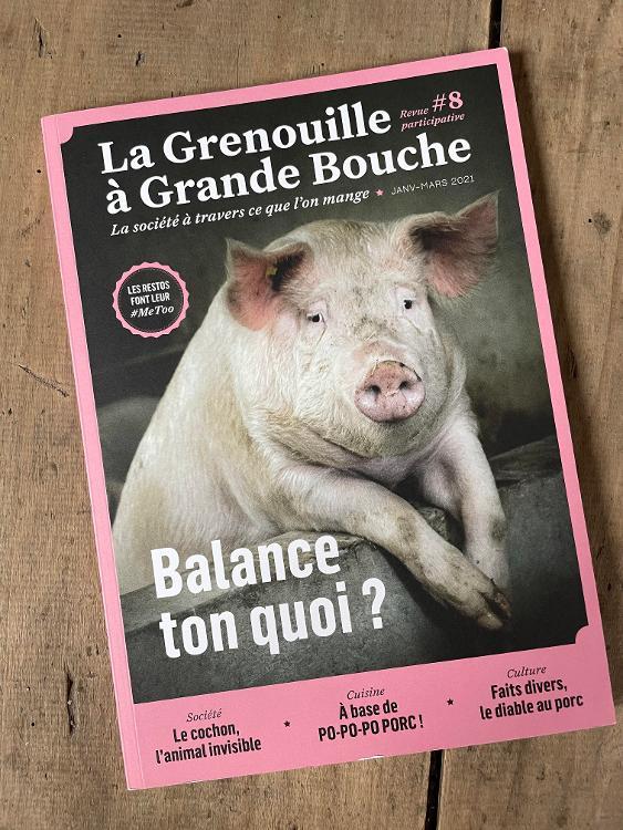 Revue La Grenouille à Grande Bouche #8