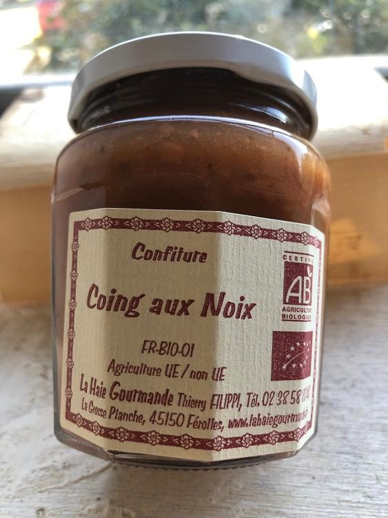 Confiture Coing aux Noix