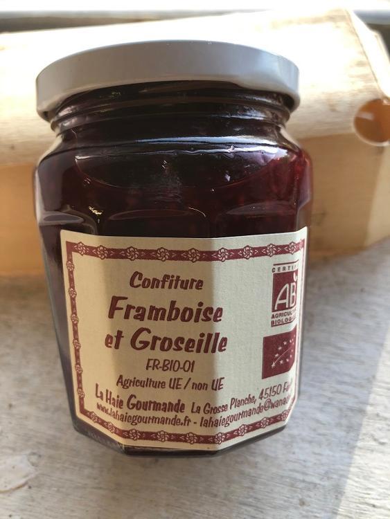 Confiture Framboise et Groseille