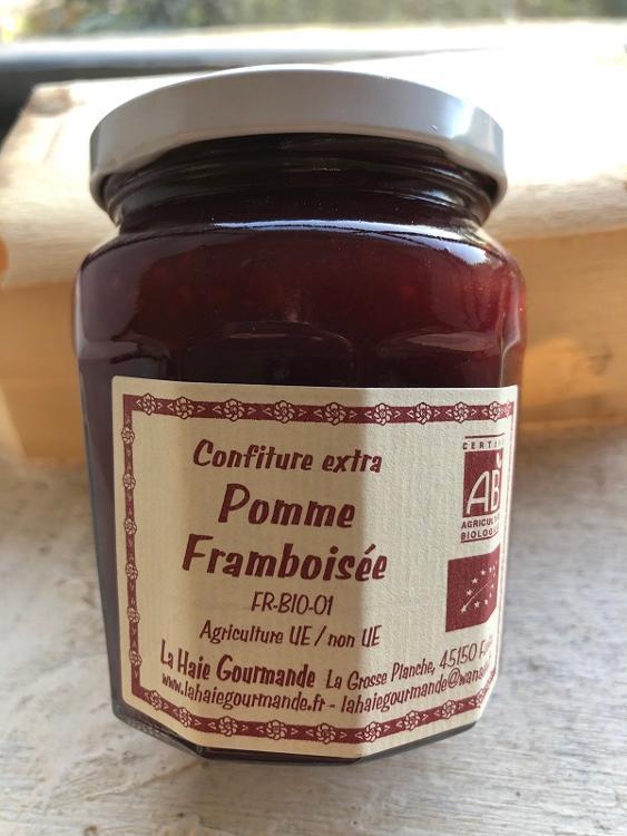 Confiture Pomme Framboisée