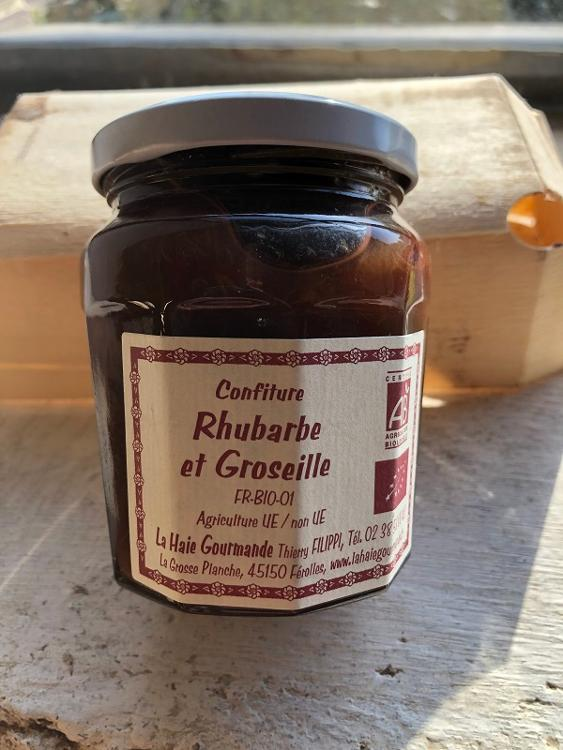 Confiture Rhubarbe et Groseille