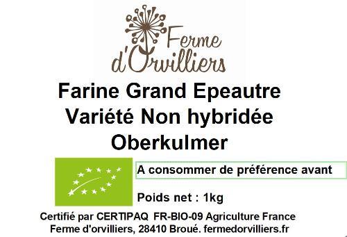 Farine Grand Epeautre Oberkulmer