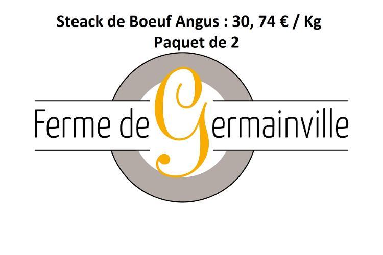 [Réservation] Steak de Boeuf Angus (paquet de 2 )