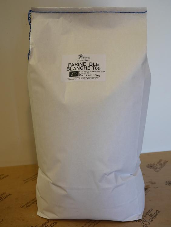 Farine de blé T65 5kg