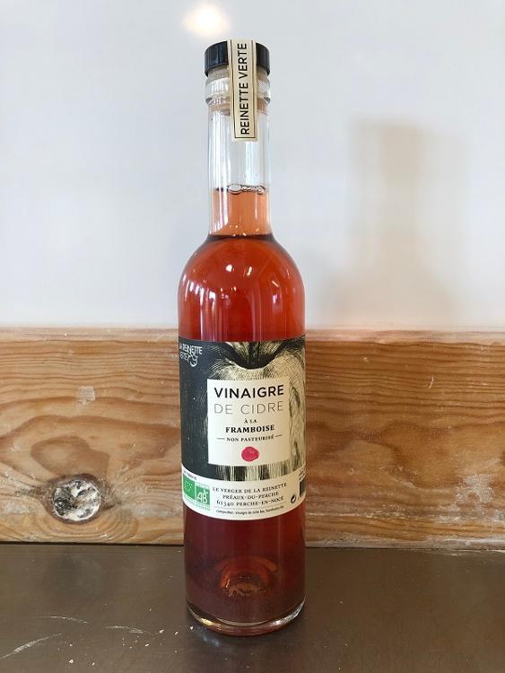 Vinaigre de cidre à la Framboise - 37,5 cl