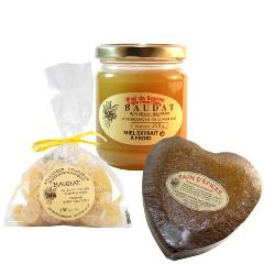 Palets au miel et raisin  - Maison Baudat 220g
