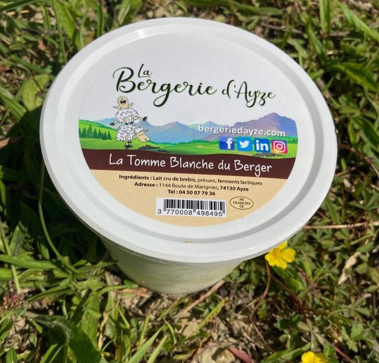 La Tomme Blanche du Berger