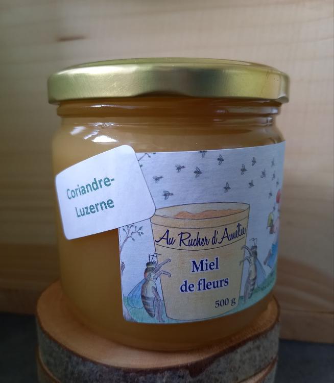 miel de coriandre-luzerne, 500g