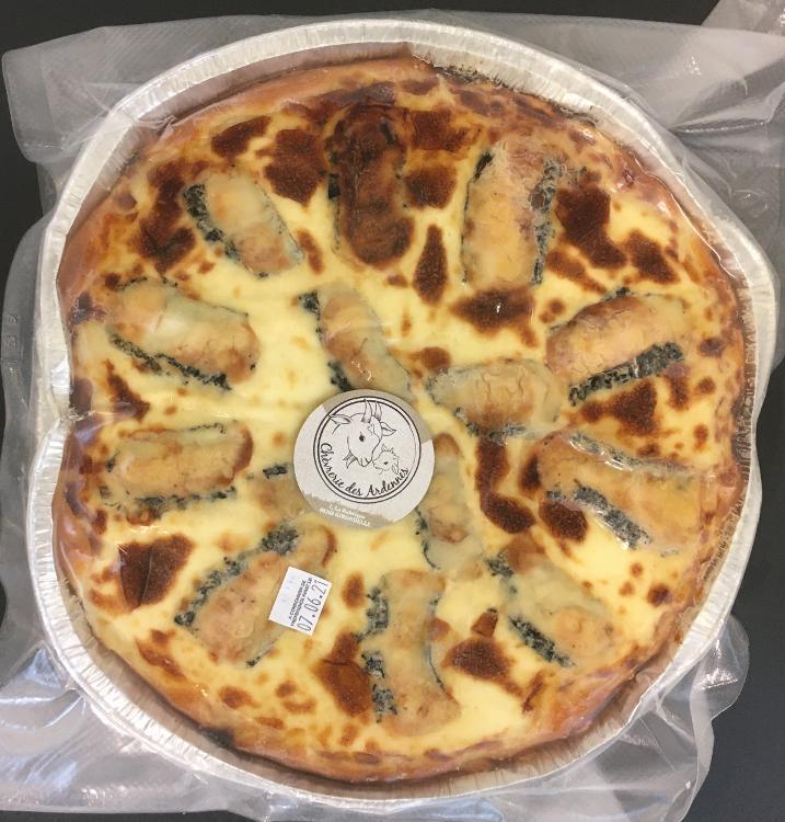 Tarte au fromage de chèvre (2P) (Dunème)