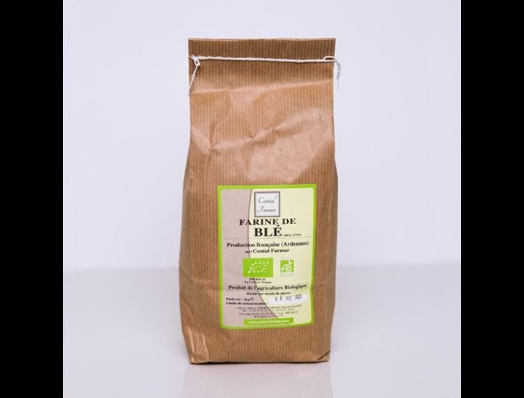 Farine de Blé Bio T150 1Kg (contal)