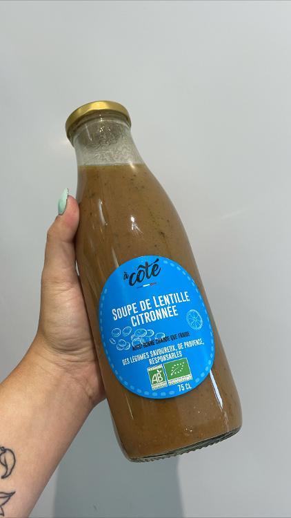 Soupe de lentille citronnée 0.75LT