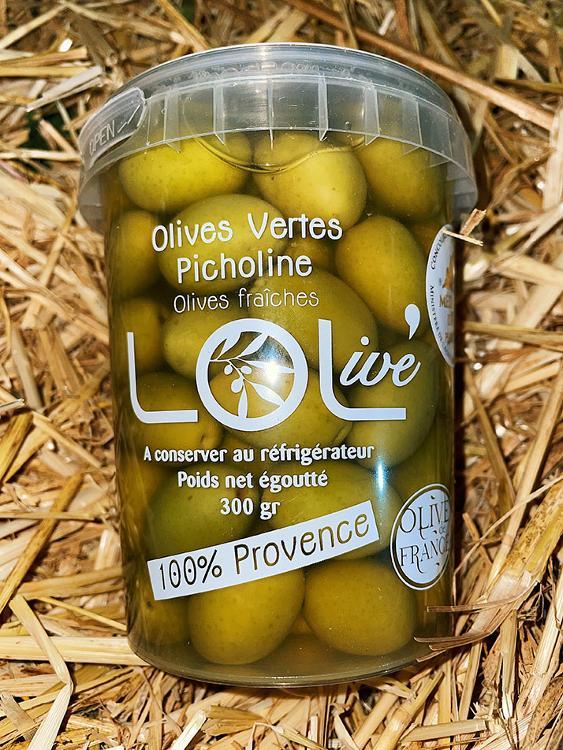 Olives vertes Picholine 300g