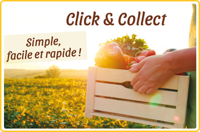 Le Click-and-Collect est disponible