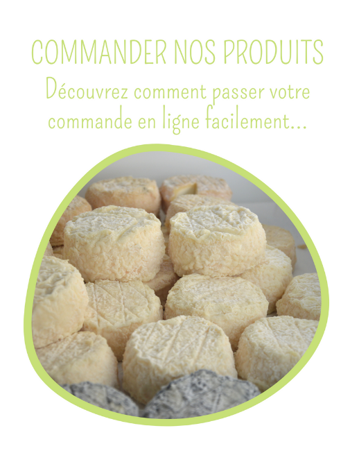 Bulle Commander nos produits Ferme Anjou Biquettes