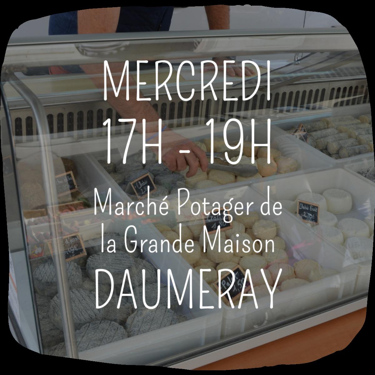 Marchés Ferme Anjou Biquettes Daumeray