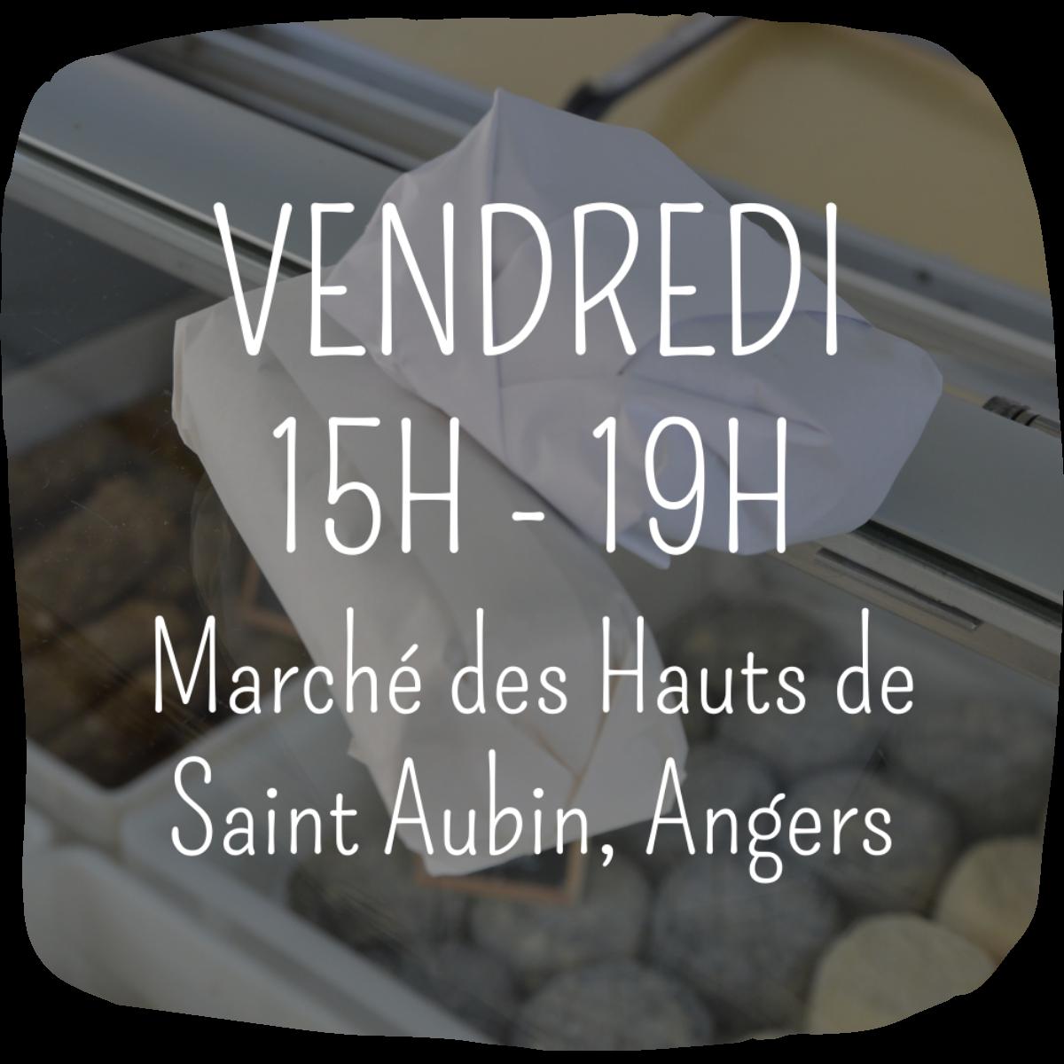 Marchés Ferme Anjou Biquettes Hauts de Saint Aubin Angers