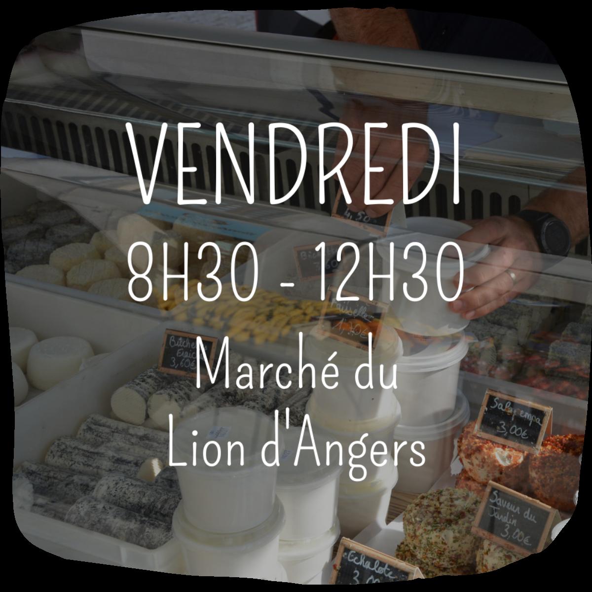 Marchés Ferme Anjou Biquettes Le Lion d'Angers