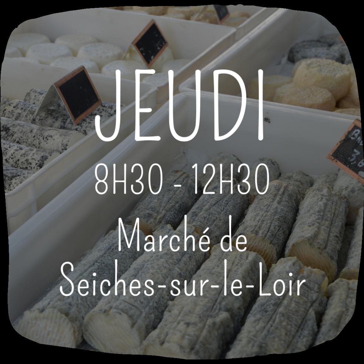 Marchés Ferme Anjou Biquettes Seiches sur le Loir