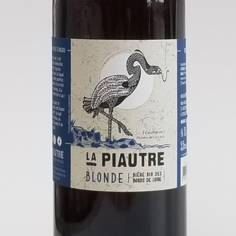 La Piautre Blonde Bio 5.5° - 75 Cl