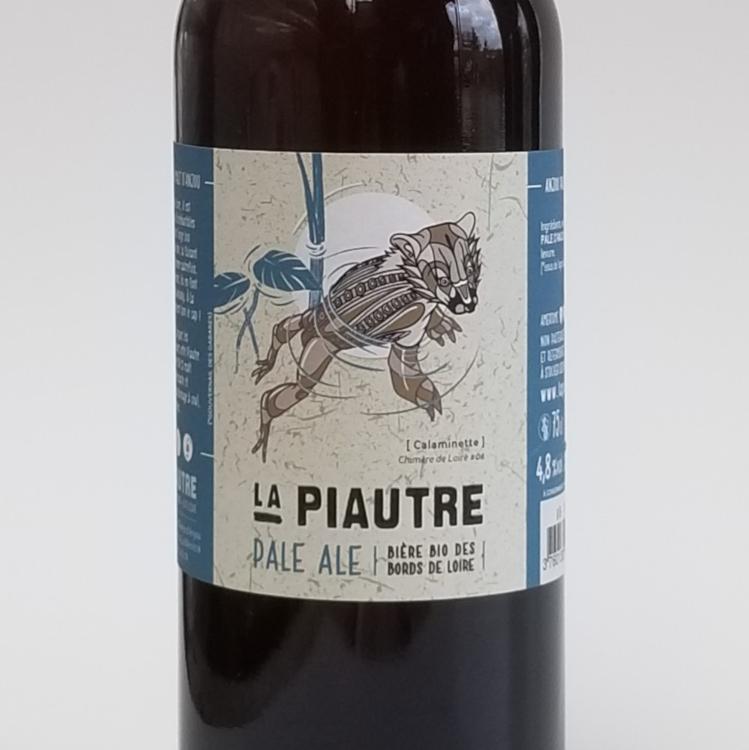 La Piautre Anjou Pale Ale 4.8° - 75 Cl