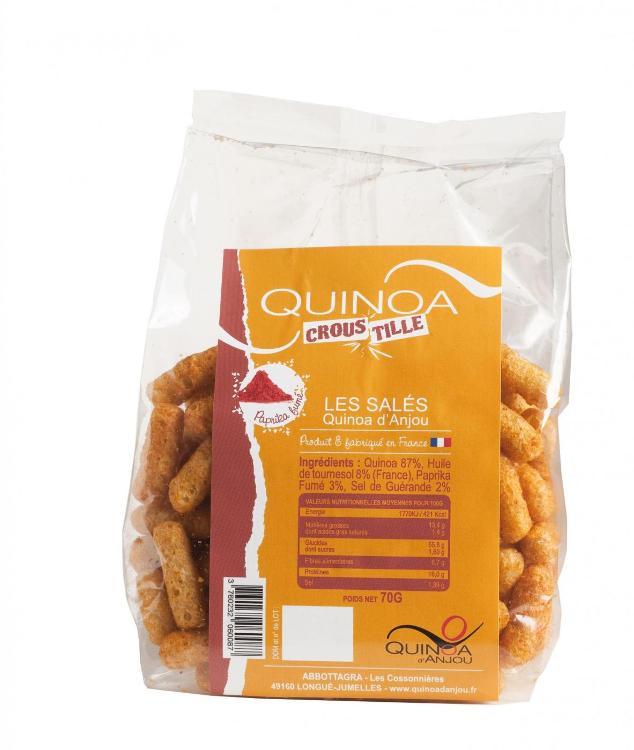 Quinoa Croustille Paprika Fumé