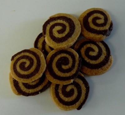 Biscuits Roulés Cacao - Sachet 100g