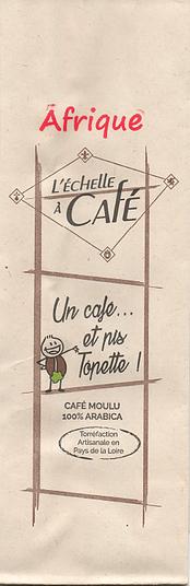 Café Tôpette - Afrique - Moulu