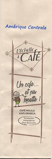 Café Tôpette - Amérique Centrale - Moulu
