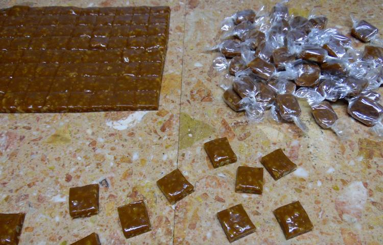 Caramels Tendres aux noix