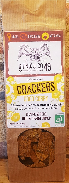 Crackers Coco-Curry
