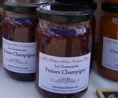 Confiture De Fraise Au Saumur Champigny