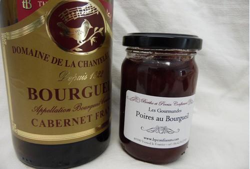 Confiture De Poire Au Vin De Bourgueil