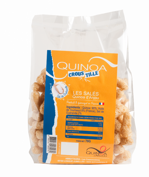 Quinoa Croustille Sel De Guérande