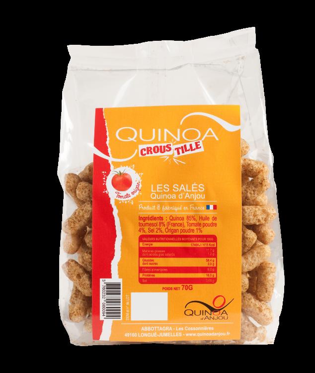 Quinoa Croustille Tomates-Origan