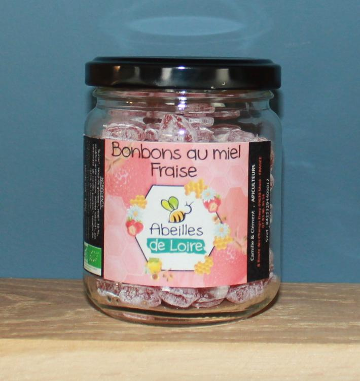 Bonbons au miel - fraise