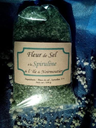Fleur De Sel - Spiruline - 125g