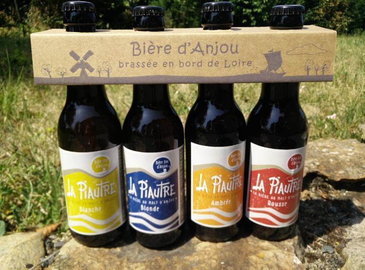 Pack 4 Piautre : Blanche / Blonde / Ambrée / Rousse