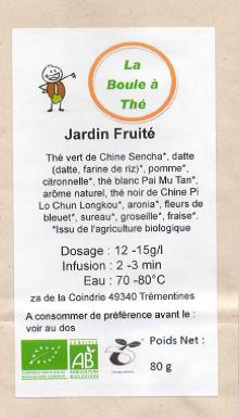 La Boule à Thé  - Jardin Fruité