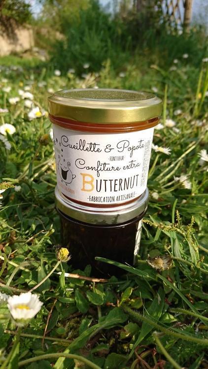 Confiture Butternut Pomme Vanille
