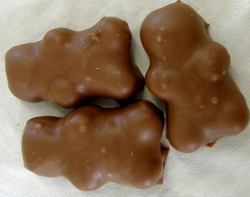 Nounours Guimauve Enrobé - Chocolat Au Lait