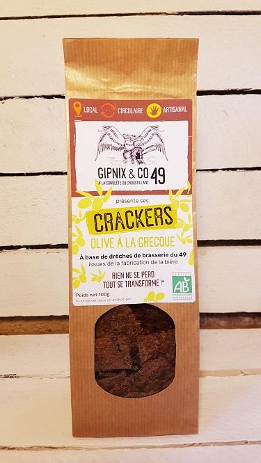 Crackers Olives à La Grecque