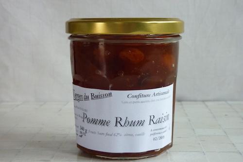 Confiture Pomme Rhum Raisin