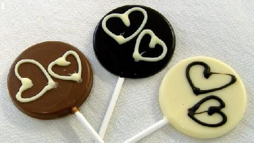 Sucette - Chocolat Noir