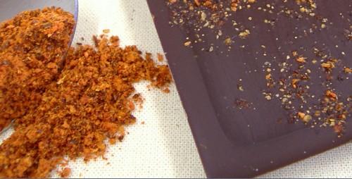Tablette Chocolat Noir Et Piment D'espelette