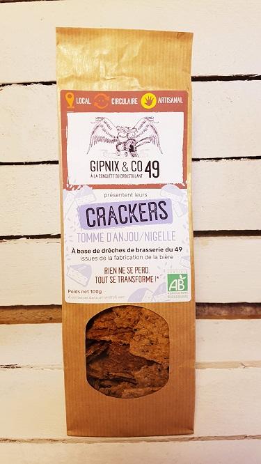 Crackers Tomme D'anjou - Nigelle